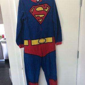 Superman Onesie unisex size Medium